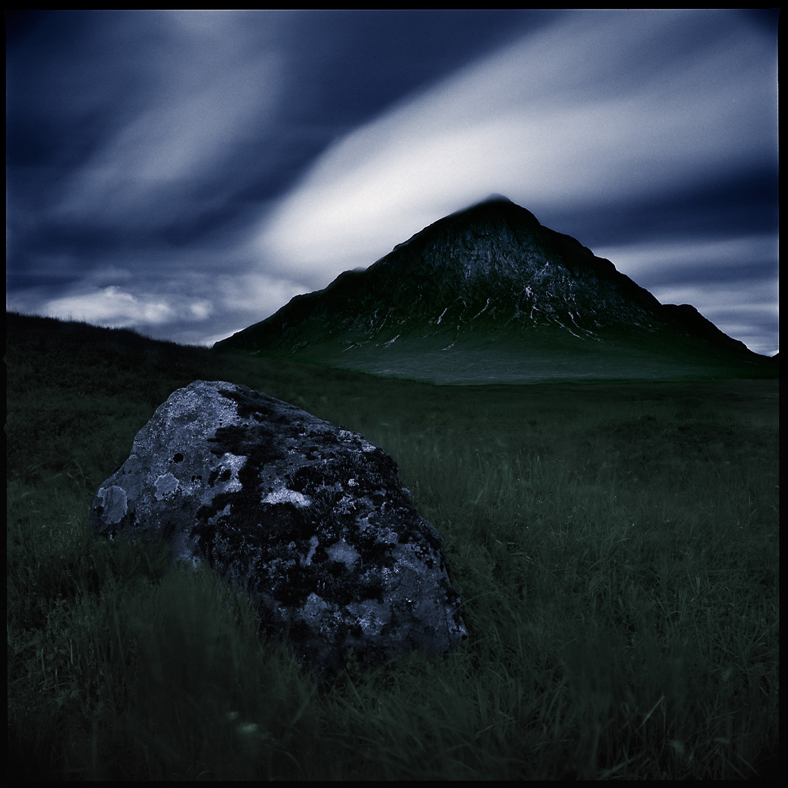 Buachaille Etive Mor Mountain Glen Etive Scottish Highlands Scotland Landscape Photographs
